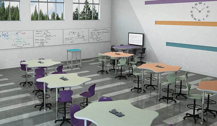 How Classroom Design Affects Student Engagement : How classroom furniture affects student success academia