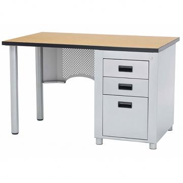 Single Desk Front View